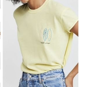NWT Free People Wipe Out Catch Waves T XS